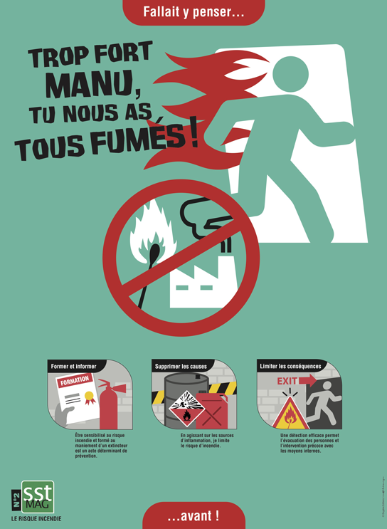 POSTER N°2 - Risque incendie 1