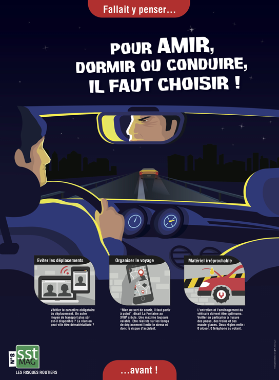 POSTER N°8 - Risques routiers 1