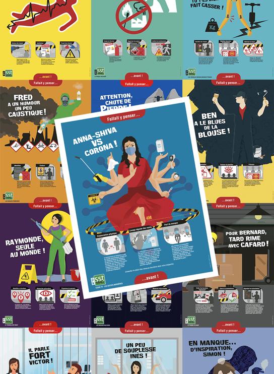 OFFRE SPÉCIALE - La collection complète : 13 posters prévention 1